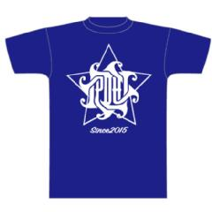 4STAR Tee  navy x white